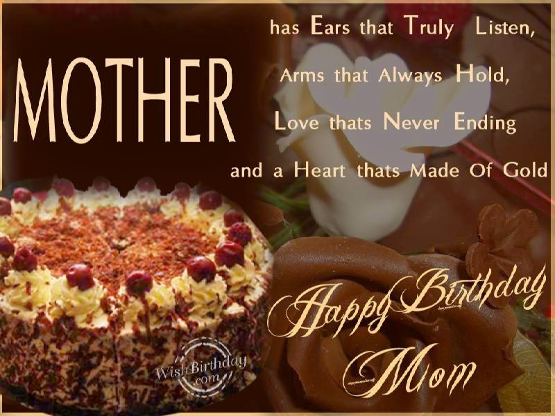 Birthday Wishes Mother