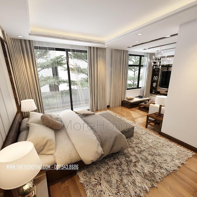Tìm hiểu cách thiết kế trang trí phòng ngủ nhà phố đẹp 1