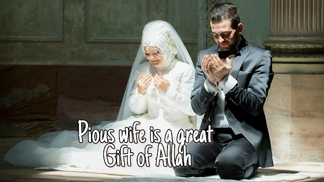 pious-lovely-wife-gift-from-Allah