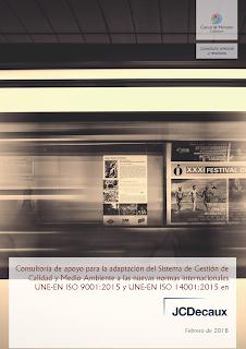 Trabajo firmado entre Cuevas y Montoto Consultores y JCDecaux España.