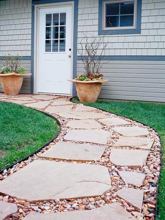 cheap and creative landscape gardening ideas