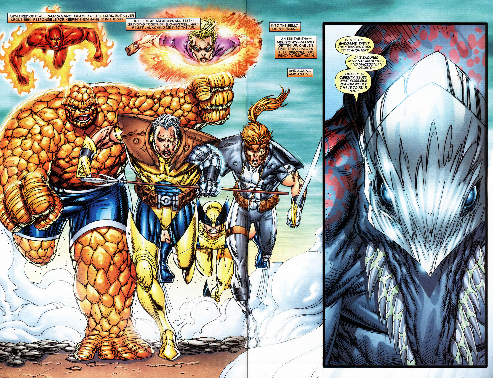 Read online X-Force (2004) comic -  Issue #6 - 6