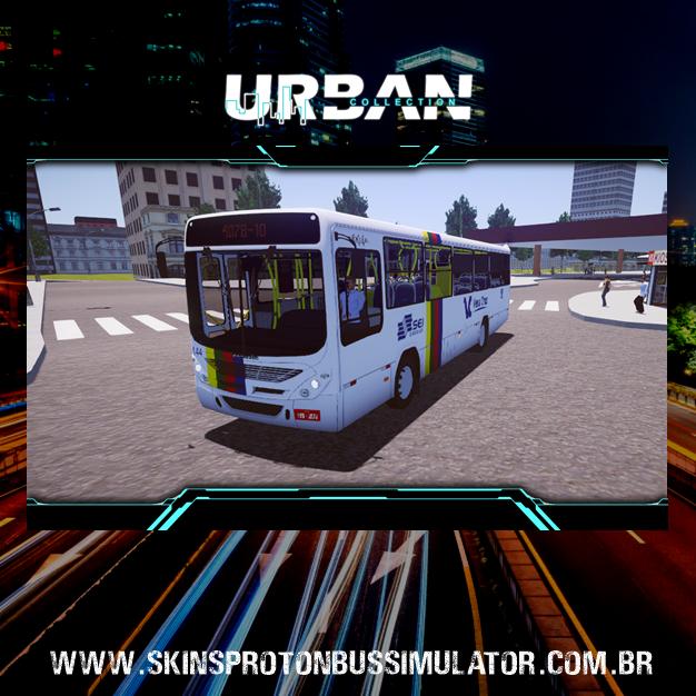 Skins Proton Bus Simulator -  Torino 07 MB OF-1519 BT5 Vera Cruz