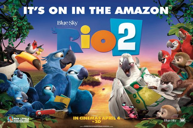Download Rio 2 (2014) BluRay 720p Subtitle Indonesia