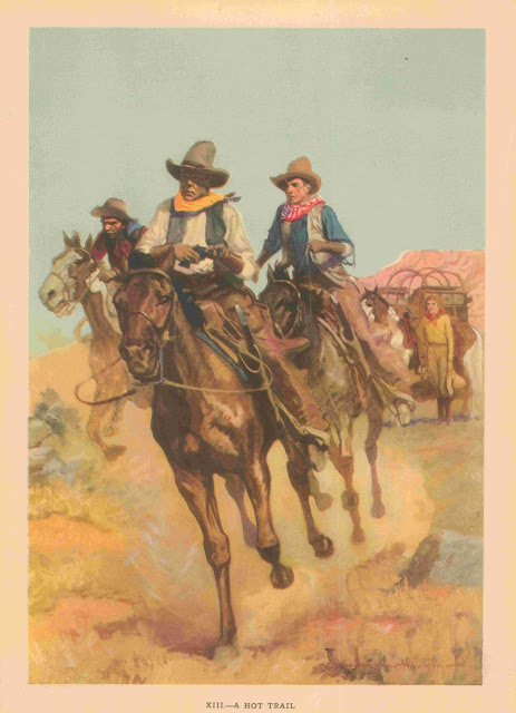 Gayle Hoskins - A Cowboy's Day #13 A Hot Trail