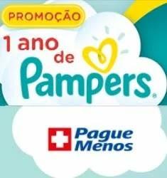 Cadastrar Promoção Pague Menos 1 Ano Fraldas Pampers Grátis - Descubra P&G