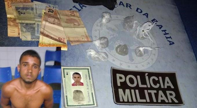Homem é preso durante Operação Distrito, em Serrolândia