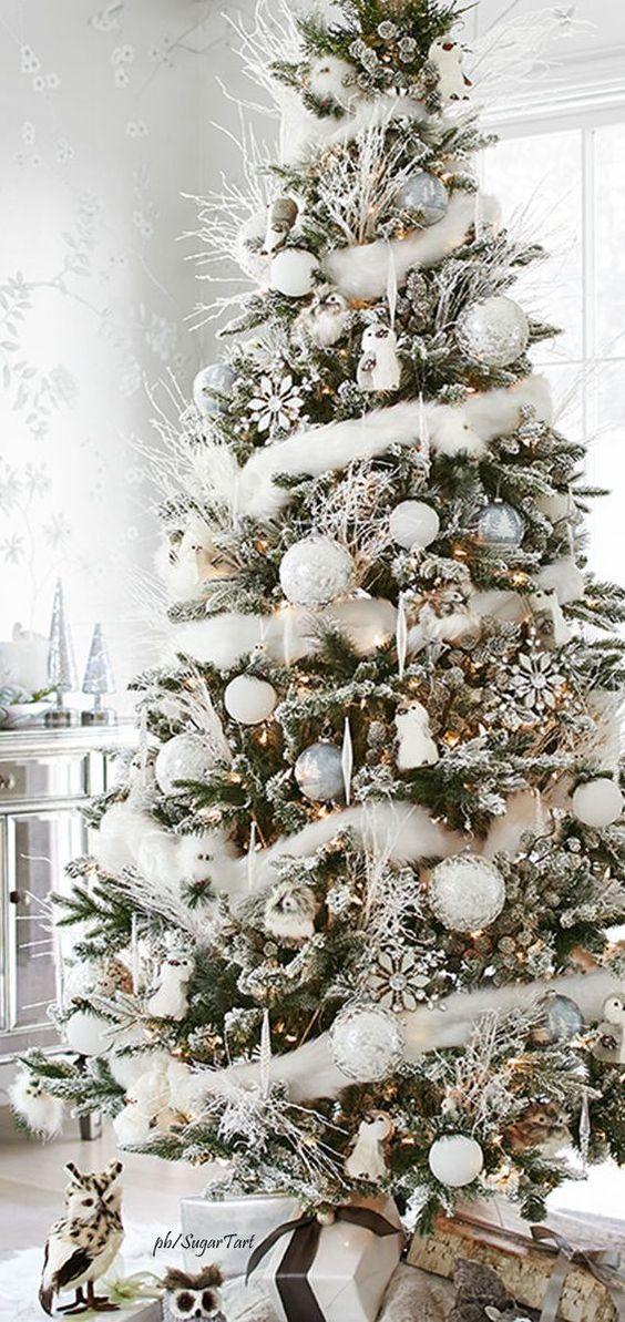 Christmas%2Btree%2Bdecorations%2Bideas%2Bbeautiful%2Band%2Bsimple%2B%25284%2529 - 11 Christmas Tree Decorations Ideas Beautiful and Simple