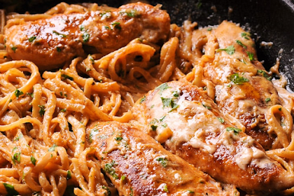 Spicy Chicken Lazone Pasta Recipe