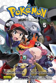 Pokémon Negro y blanco 5