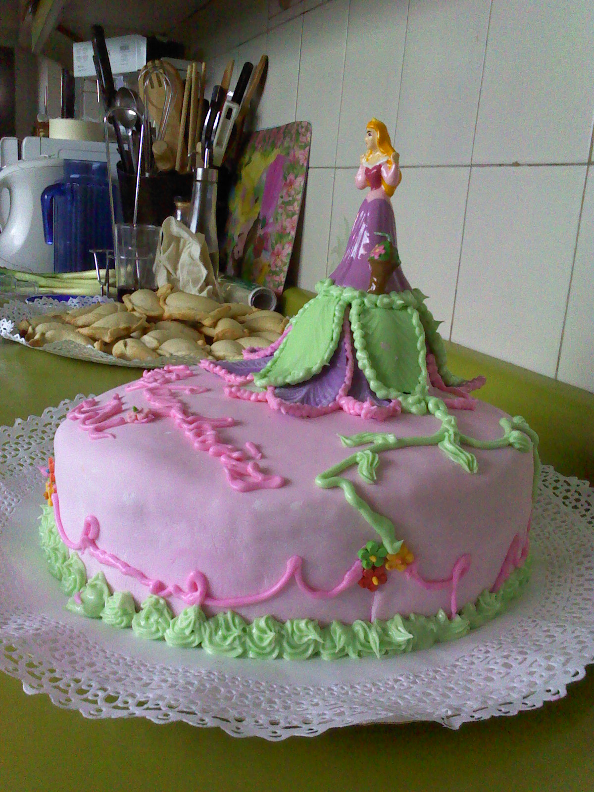 Tortasydecor Tortas Infantiles Para Ninitas - Decoracion-de-tortas-infantiles