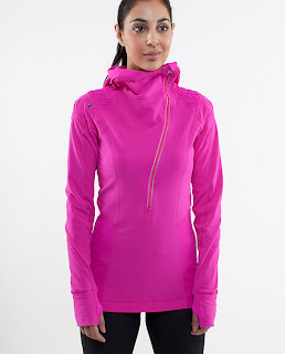 lululemon run for it pullover paris pink