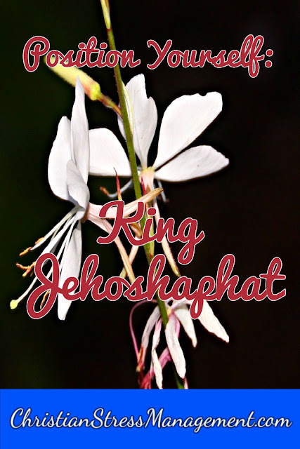 Position Yourself: King Jehoshaphat