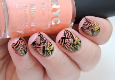 Diseños de uñas pintadas
