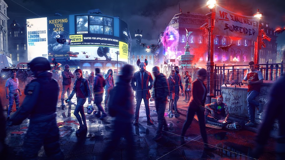 Watch Dogs Legion 8k Wallpaper 10