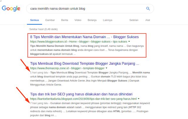 Cara Menghilangkan Tanggal Pada URL Postingan Blog di Pencarian Google