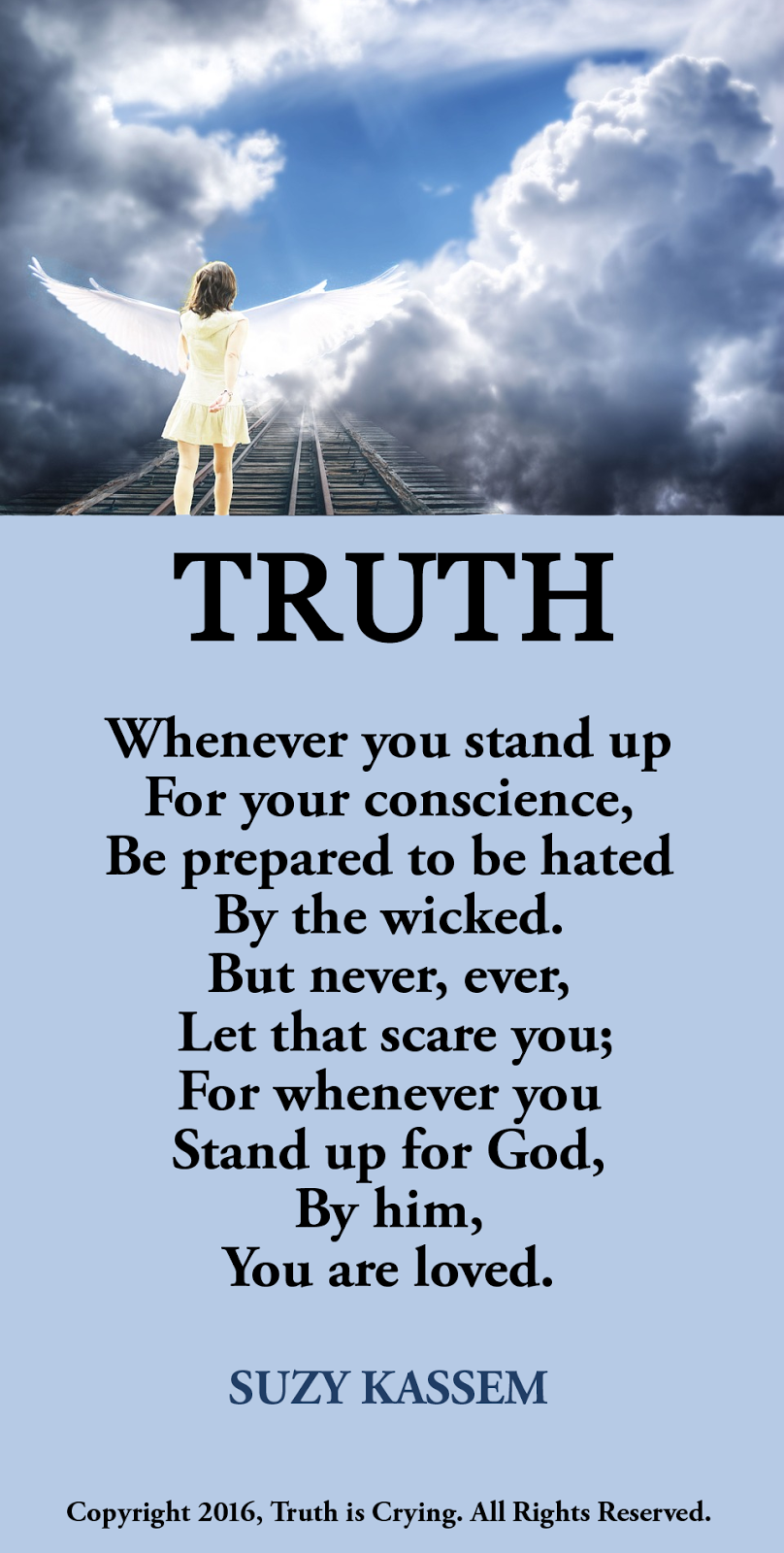 Truth Poem Stand Up for Your Conscience