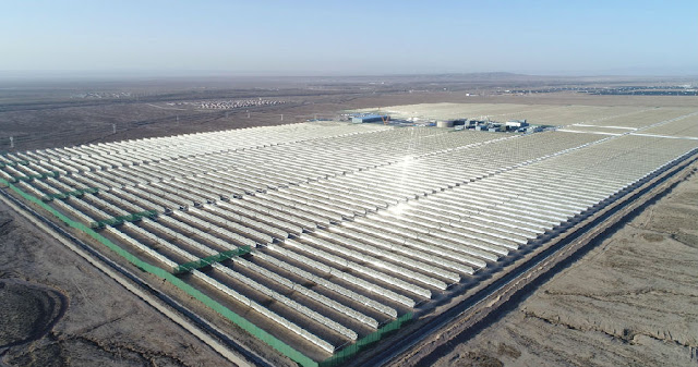 Who provide equipment and services to China Concentrated Solar Power