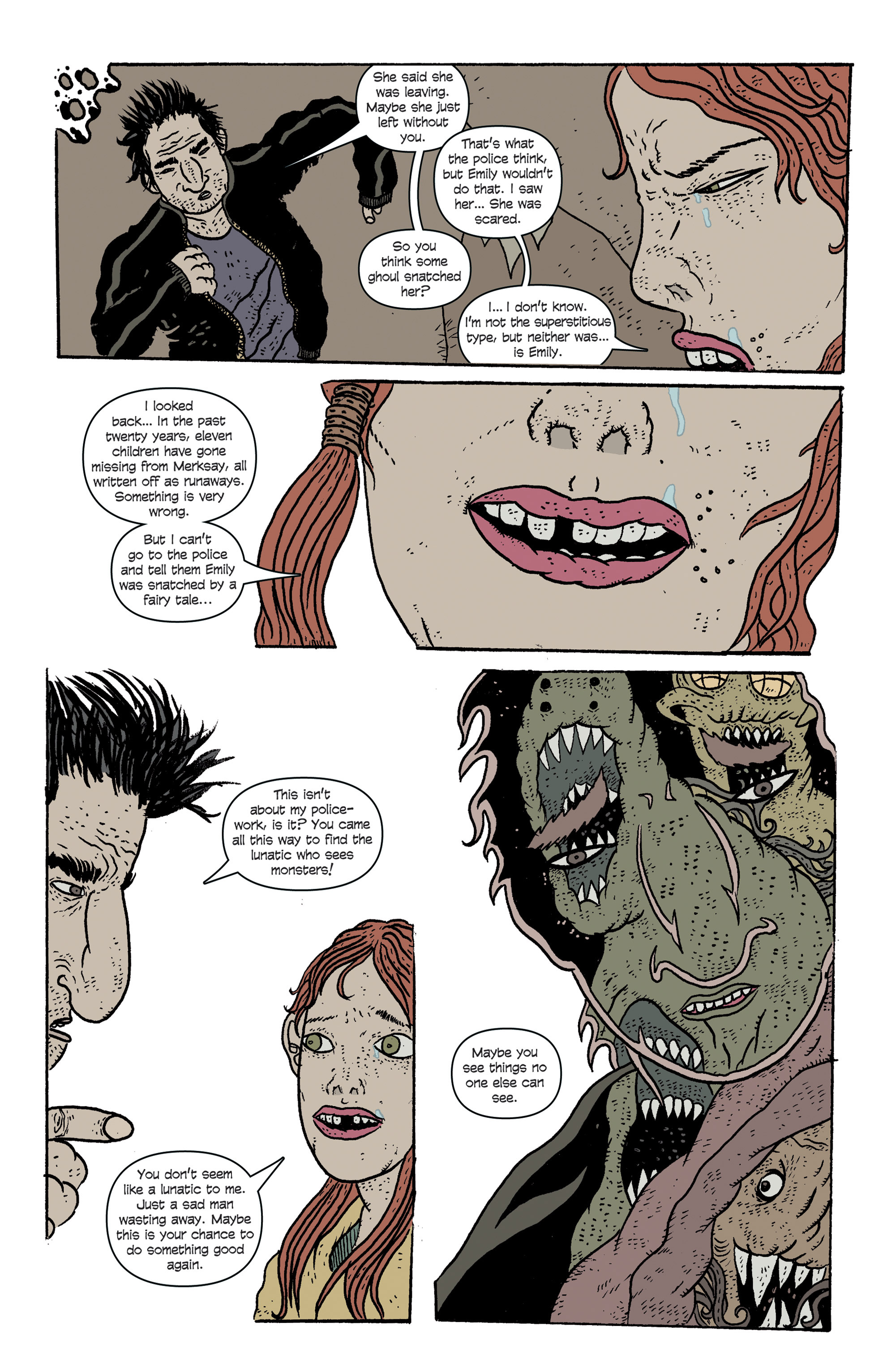 Read online And Then Emily Was Gone comic -  Issue #1 - 13