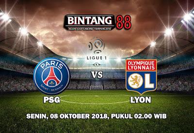 Prediksi Paris Saint-Germain VS Olympique Lyon 8 Oktober 2018