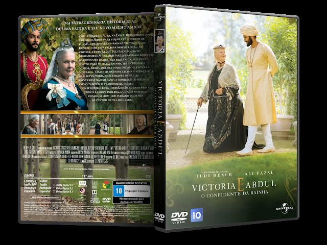 Capa DVD Victoria E Abdul O Confidente Da Rainha