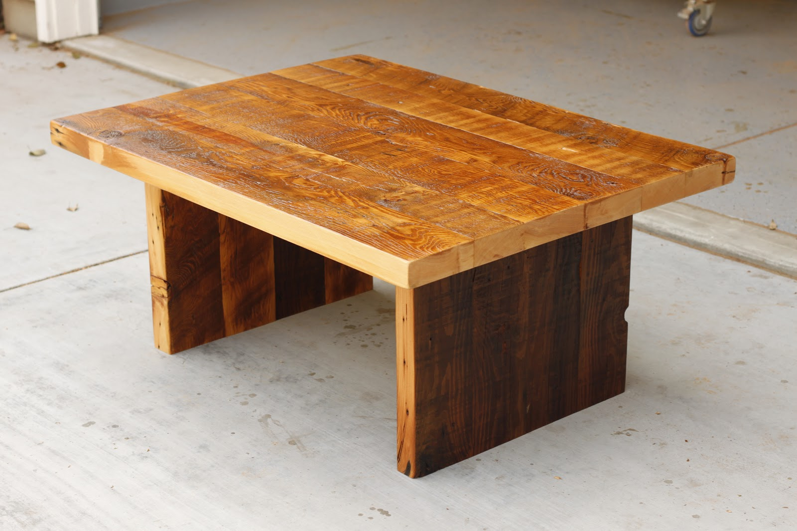 Reclaimed Wood Furniture: Set Of 3