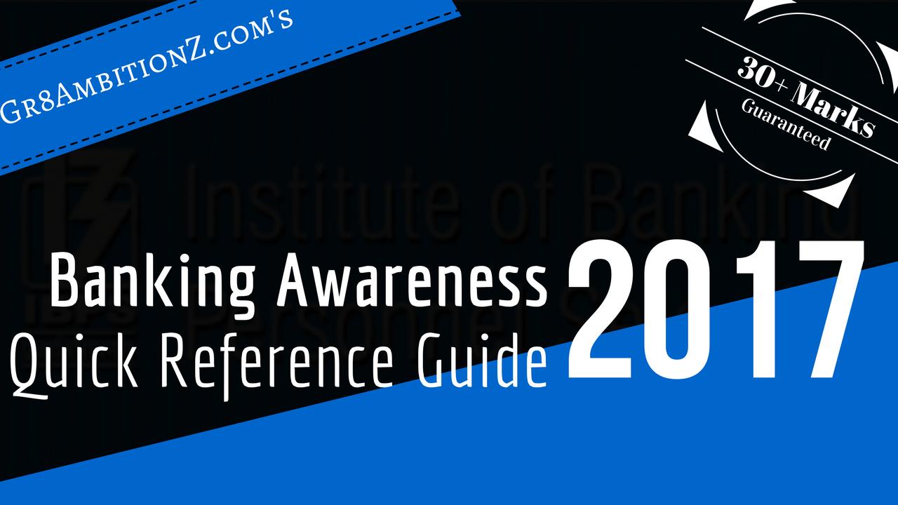 Banking Awareness Current Affairs Pdf