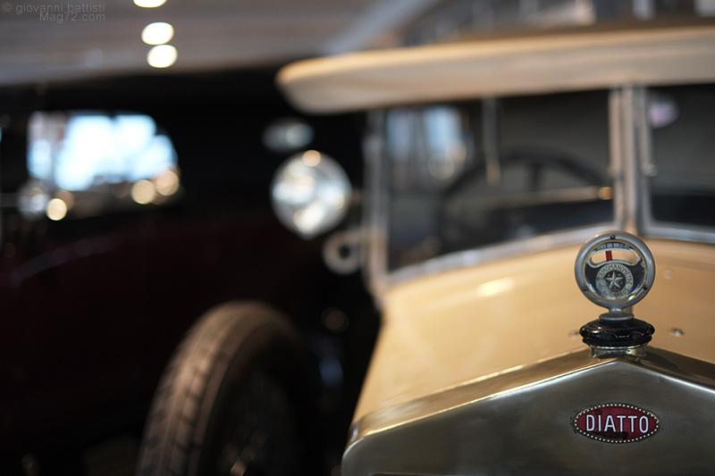 Museo Nicolis, automobile Diatto d'epoca