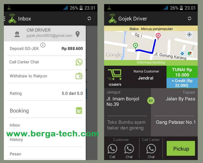 Cara Mengembalikan Aplikasi Gojek Driver Ke Versi Lama