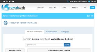 Membeli Domain Pada Rumahweb