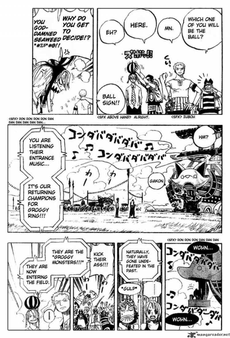One Piece Ch 309