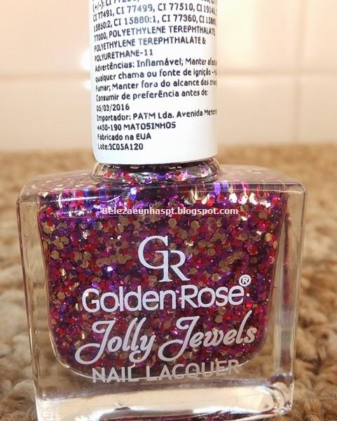 Verniz Golden Rose Jolly Jewels 120