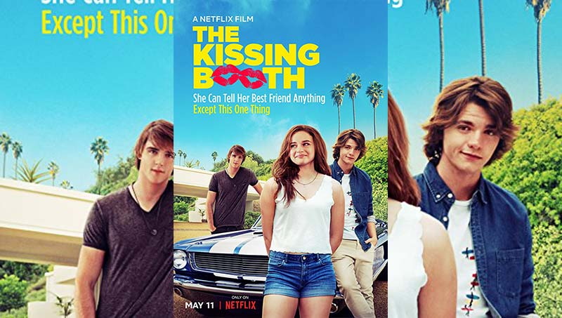 The Kissing Booth 2018 720p WEBRip Movie Poster