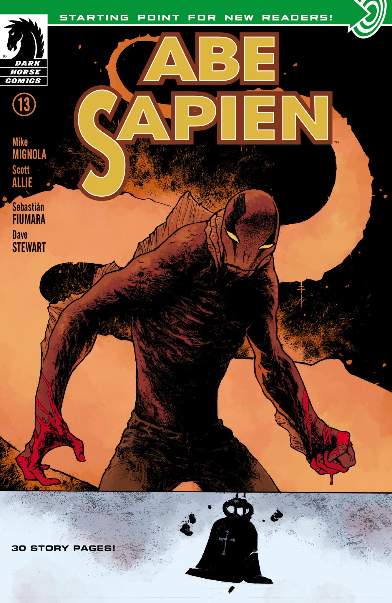 Read online Abe Sapien comic -  Issue #13 - 1