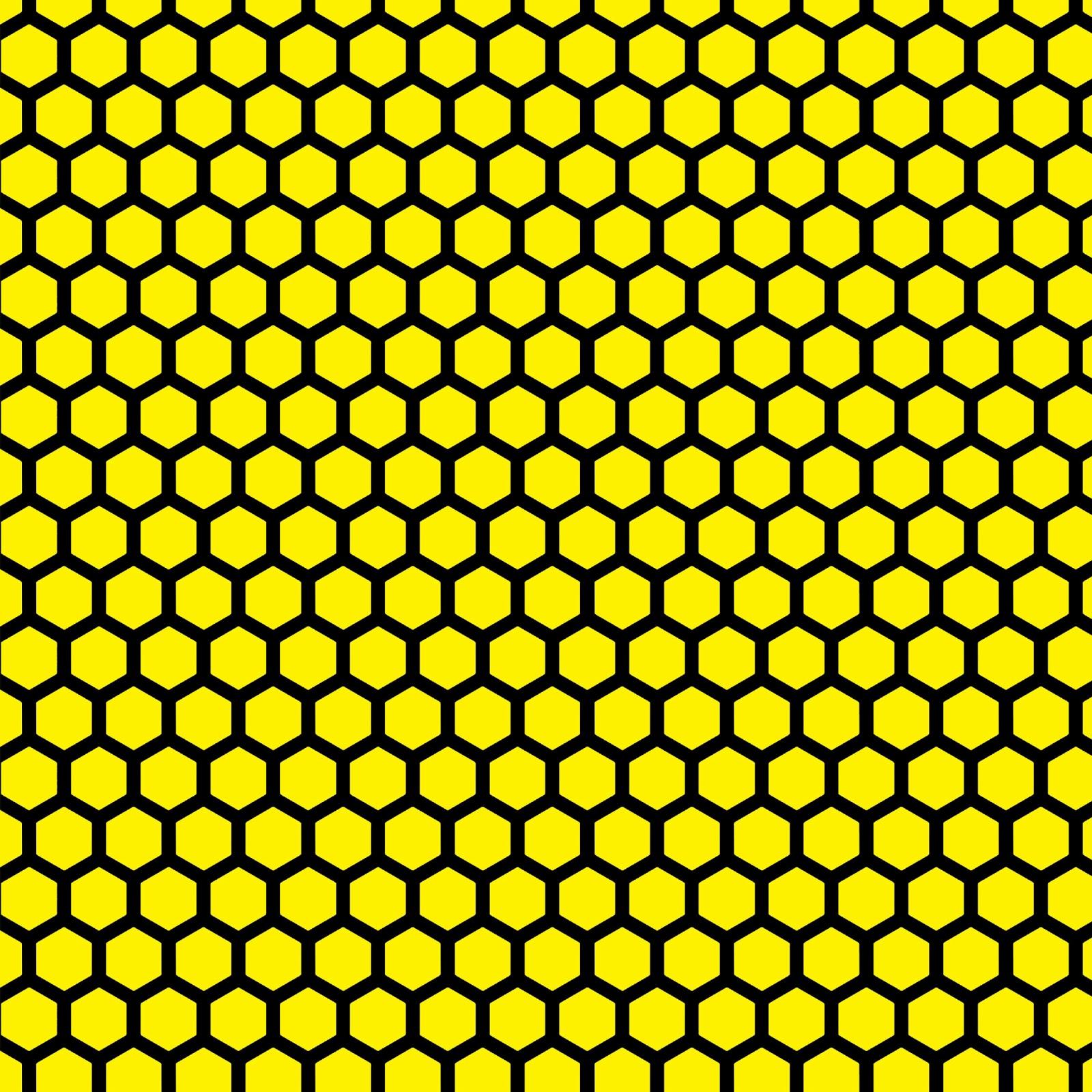 Neon Honeycomb Wallpaper by K3nny94 on DeviantArt |Yellow Honeycomb Wallpaper