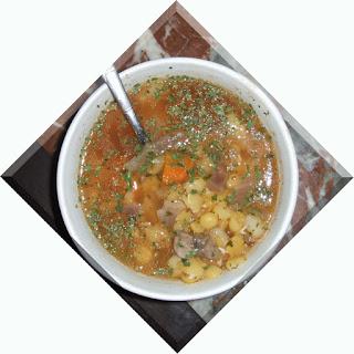 poza originala cu supa de mazare uscata