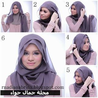 لفات حجاب 2020, لفات طرح للمحجبات , طرق لف الحجاب بالصور