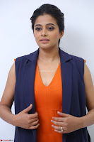 Priyamani in Beautiful Short Deep neck Orange Dress ~  Exclusive 21.JPG