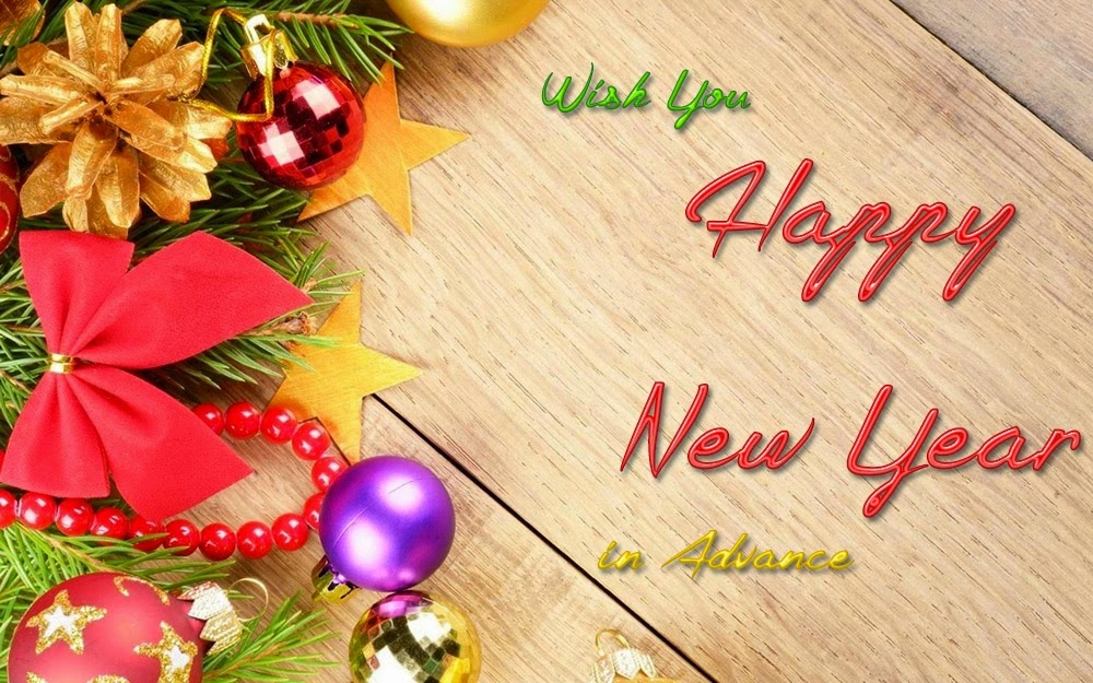 wish you a happy new year in advance