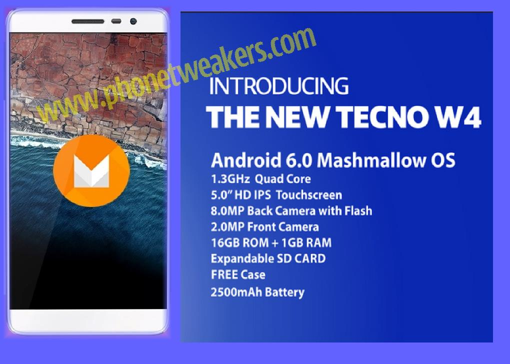 Download] Stock Official Tecno W4 Firmware | Phonetweakers