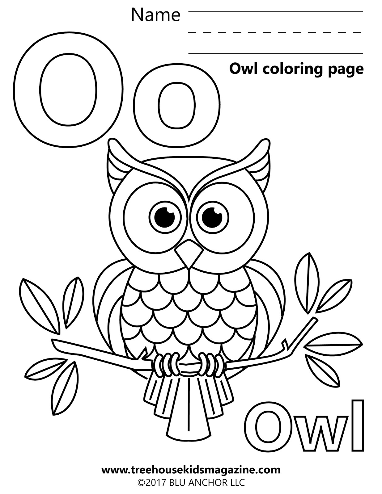 Treehouse Magazine The Artful Owl
