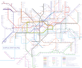 Not Quite Tangible 2040 Tube Map