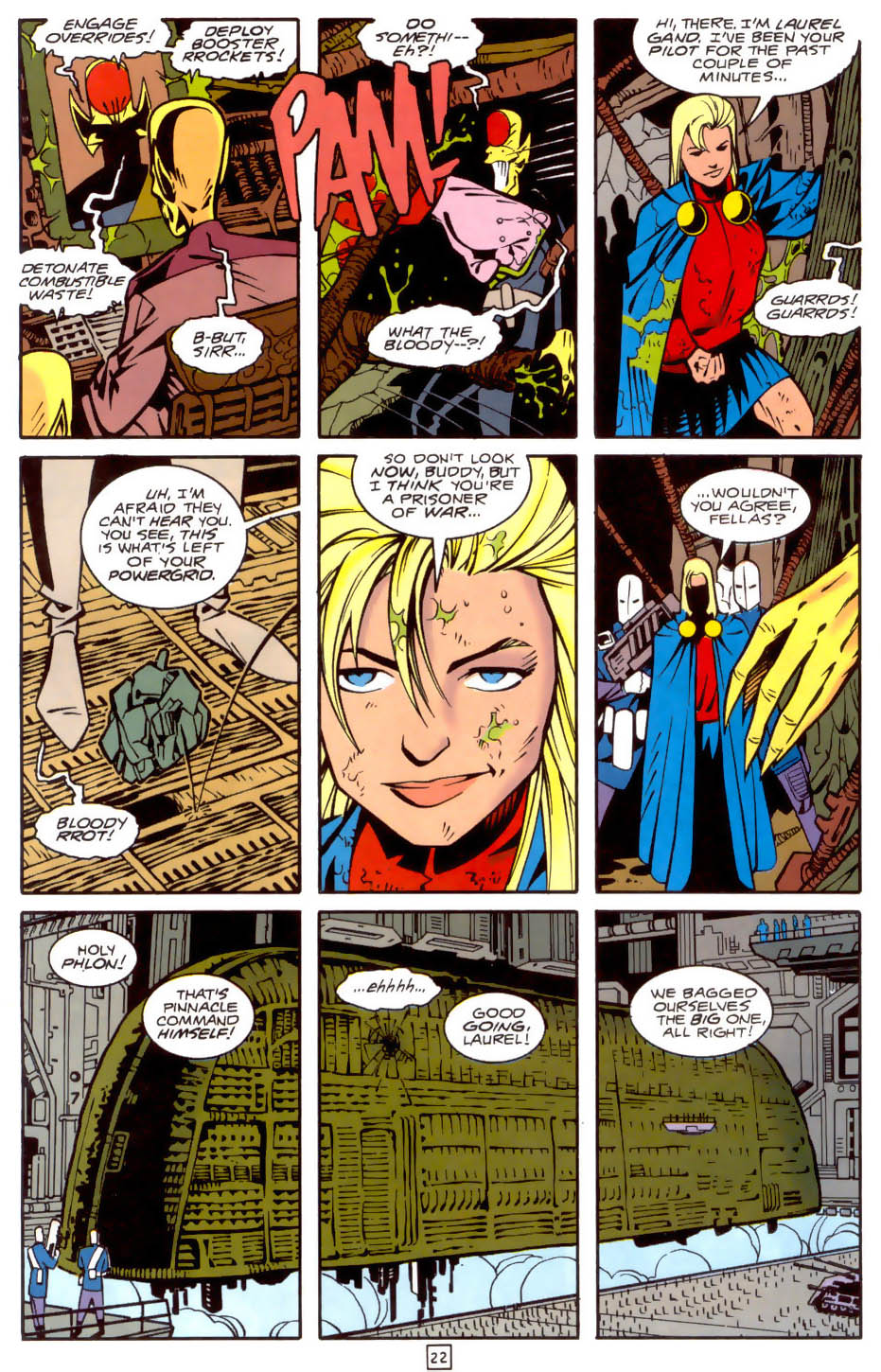 Legion of Super-Heroes (1989) 34 Page 22