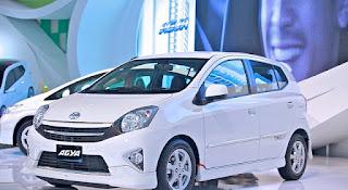 Dimensi Toyota Agya