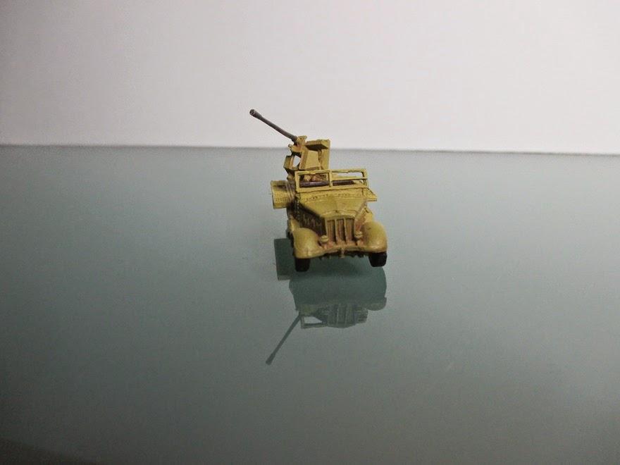 1/144 Sdkfz 7/2 Flak diecast aircraft