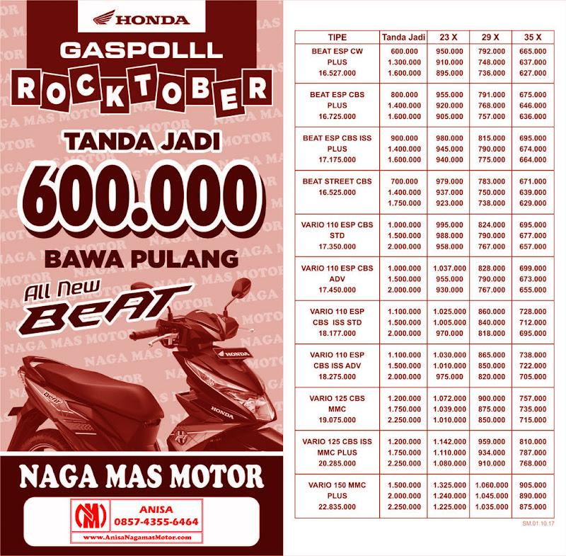 Promo Naga Mas Motor Honda ROcktober