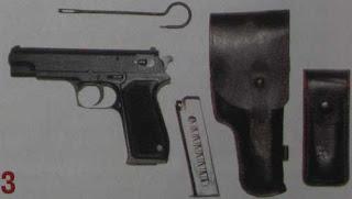9-мм пистолет ОЦ-27 «Бердыш» в комплекте с поясной кобурой, футляром для запасного магазина, запасным магазином и протиркой