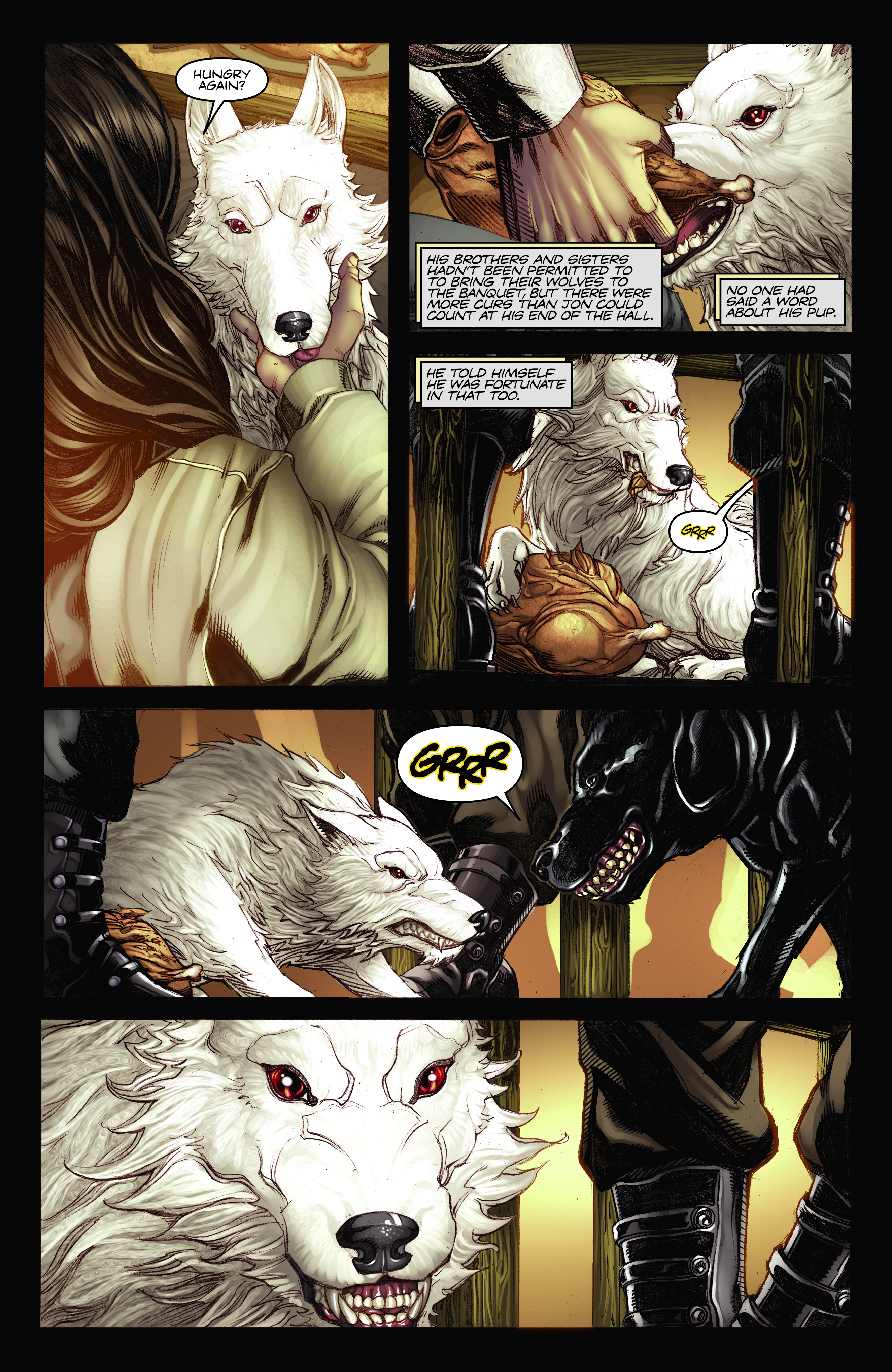 Read online A Game Of Thrones comic -  Issue #2 - 13