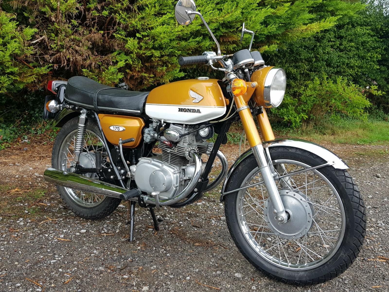 Honda Cb175 K4 1970 Varian Spesifikasi