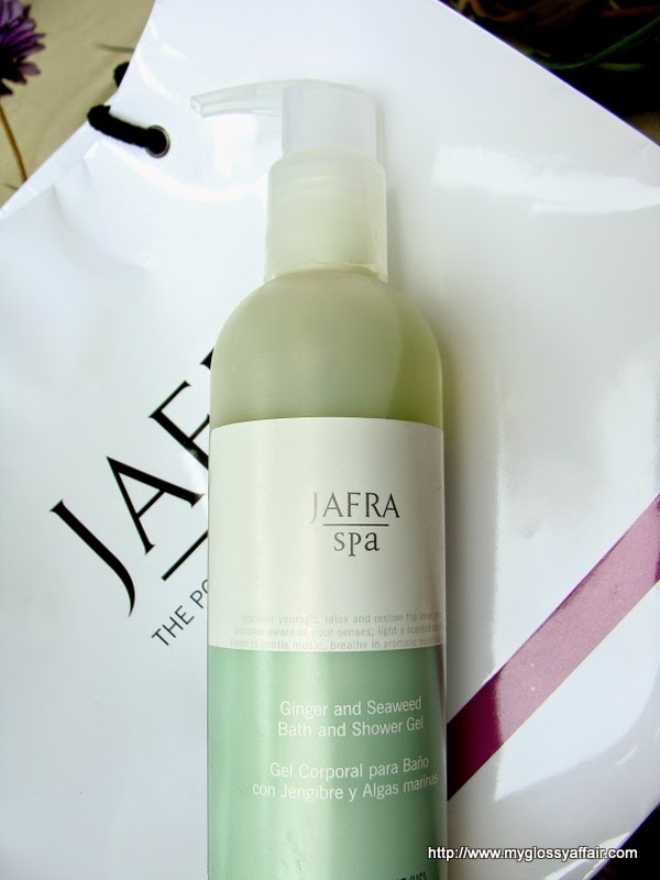 Jafra Ginger and Seaweed Bath and Shower Gel Review